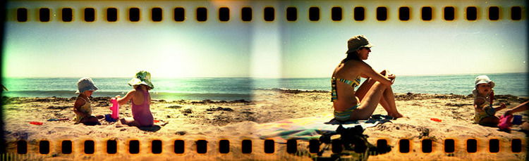 35mm holga panorama