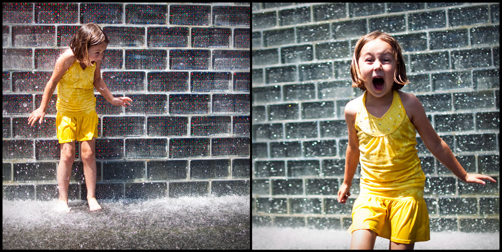 made for kids: millennium park's crown fountain