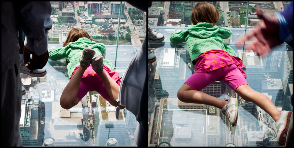 sears tower skydeck - better than legoland