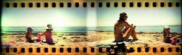 Holga 35mm photo panorama