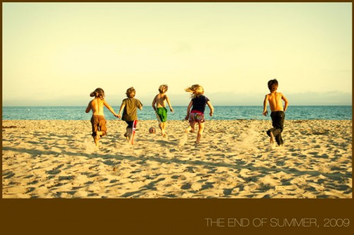 the end of summer – poster