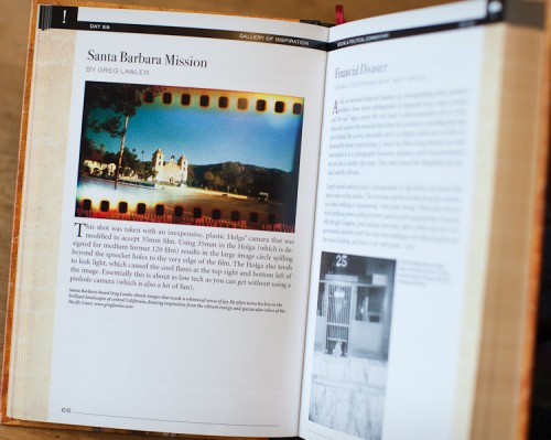Holga photo in The Daily book of Photography.