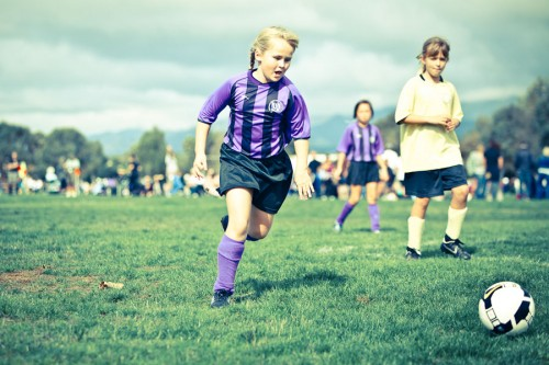 First AYSO season…