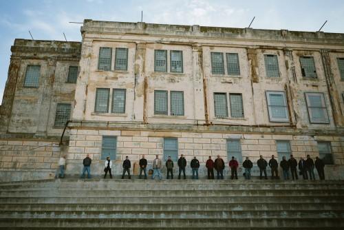 Alcatraz Prison Overnight