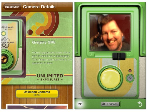 Hipstamatic named a camera after me!