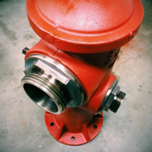 Restore an old fire hydrant to make awesome office art!